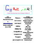 gnz Game Maker Magazines