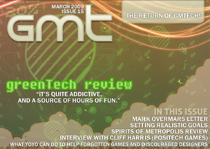 GameMaker Tech issue 15 with Mark Overmars exclusive