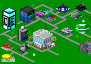 GM-Rus' Isometric Game Maker city project