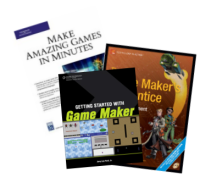 Three different Game Maker books