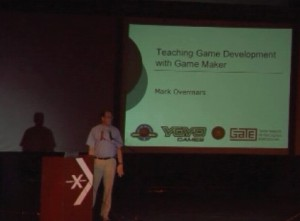 Mark Overmars talks about Game Maker and YoYo Games at Microsoft Education Conference