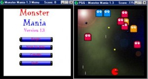 monster mania 1 3 300x160 Ten Years of Game Maker 1999 2009