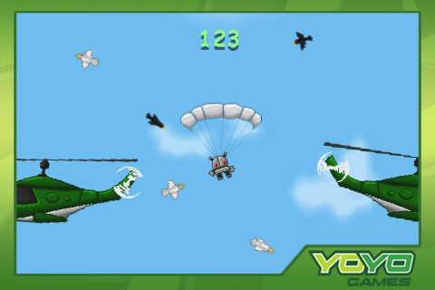 skydiver app store SkyDiver Mach II available in the Apple App Store