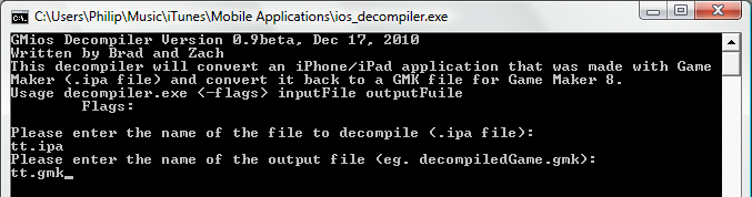 ios game maker decompiler Game Maker iOS Decompiler Released