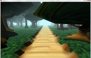 martin crownover 3d tree poly test GameMakers 3D Speed To Increase