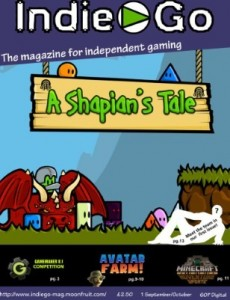 IndieGo Magazine - Issue 1 Cover