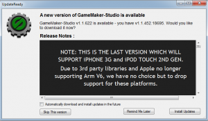 Screen Shot 2012 11 07 at 10.01.23 AM 300x174 GameMaker to Drop Support for iPhone 3G and iPod Touch 2nd Generation
