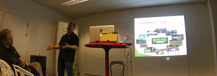 history of gamemaker History Of GameMaker Discussed At Dutch Game Garden 2014