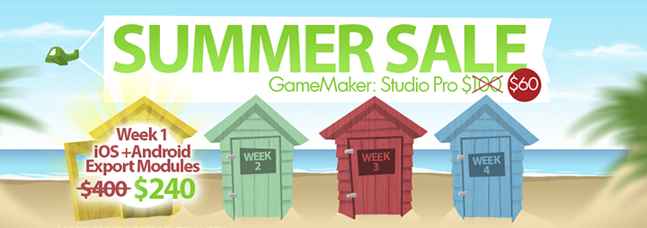 gamemaker studio summer sale GameMaker Summer Sale   Up To 50% Off