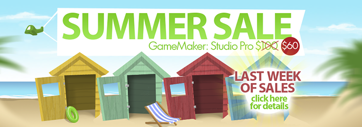 gamemaker summer sale GameMaker Summer Sale   Up To 50% Off