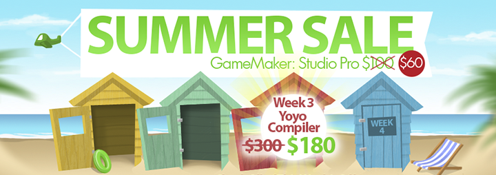 summersale GameMaker Summer Sale   Up To 50% Off