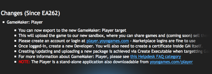 gamemaker player released GameMaker Player Officially Launched