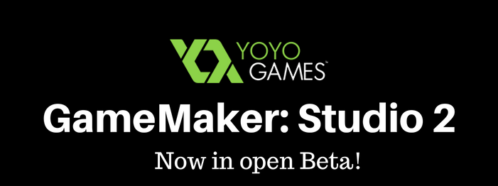 game maker studio 2 in open beta