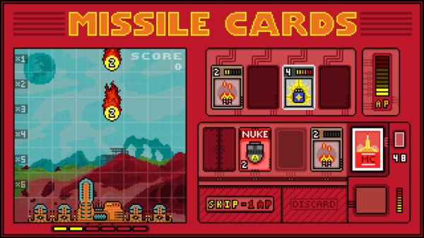 missile cards game screenshot