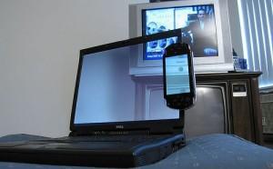 Transparent Laptop and PSP