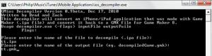 iOS Game Maker Decompiler