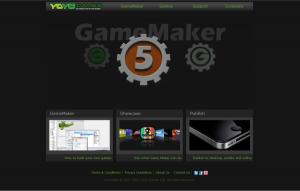 New YoYo Games Homepage 4th July 2011