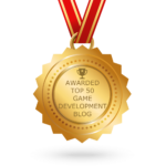 Game Development Top 50 Award Badge