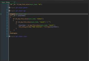 GMS 2 Region Code Folding